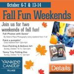 Yankee Candle Fall Weekends