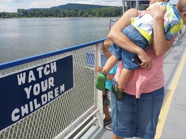 ferry ticonderoga