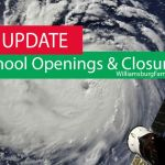 School Openings and Closures due to Hurricane Florence - full list: