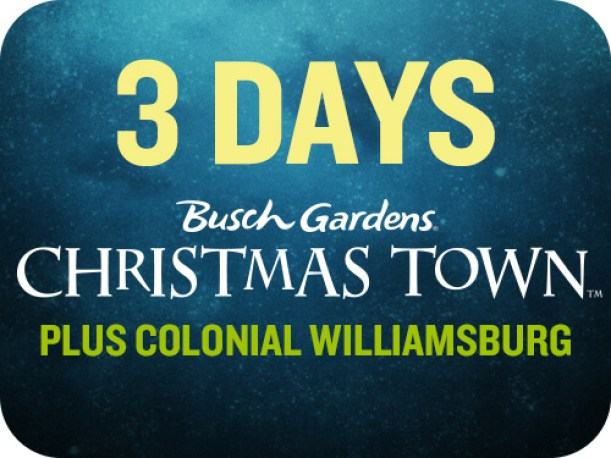 busch gardens colonial williamsburg tickets