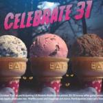 $1.50 scoops at Baskin-Robbins on Oct. 31