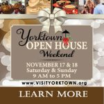 Yorktown Open House Weekend Nov 17th & 18th at Riverwalk Landing in Yorktown – Learn more: