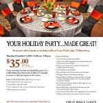 Need to take the Staff out for a Holiday Party - Head over to Great Wolf Lodge on Dec 13th