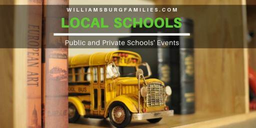Williamsburg Parents Calendar Of Events February 2020 Schools Williamsburg