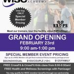 WISC Fitness Academy - Grand Opening Feb 23rd - 9 am - 1 pm