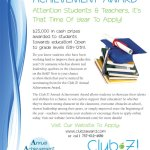 Club Z! Annual Achievement Award - Apply Now