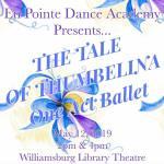 thumbalina en pointe dance williamsburg