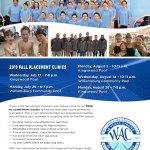 Williamsburg Aquatic Club Fall Placement Clinics Coming Up!