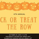 William and Mary's Trick or Treat on the Row, Oct. 29