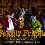 Family Frights at  Jamestown Settlement Oct. 25 and 26 - get your tickets early!