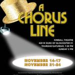 William and Mary Theatre presents A Chorus Line next as part of their 2019 - 2020 Season!