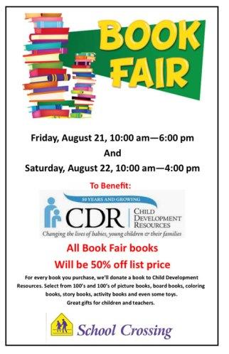 Book Fair School Crossing