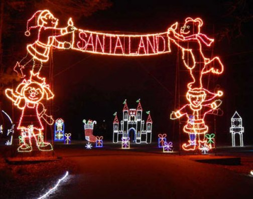 Newport News Park Christmas Lights 2020 Celebration in Lights at Newport News Park   WilliamsburgFamilies.com