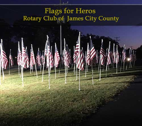 rotary-flags-for-heros-williamsburg