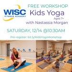 Kids FREE Yoga Workshop & Classes in December