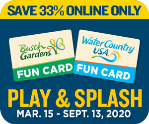 2 park fun card busch gardens sale