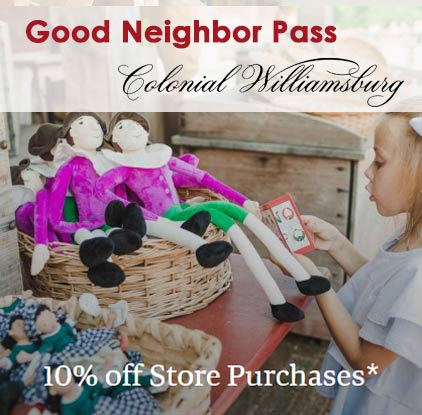 good-neighbor-pass-colonial-williamsburg-shopping-discount