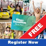Get your Kings Dominion FREE Pre-K Pass for your kids ages 3 - 5!