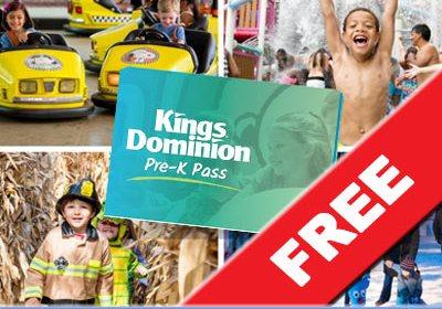free prek pass kings dominion