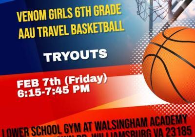 venom-girls-basket-ball tryouts williamsburg