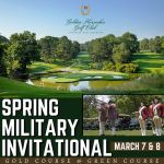 Spring Military Golf Invitational - March 7 & 8 - Learn More: