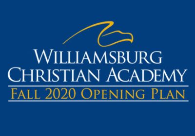 williamsburg christian academy reopening