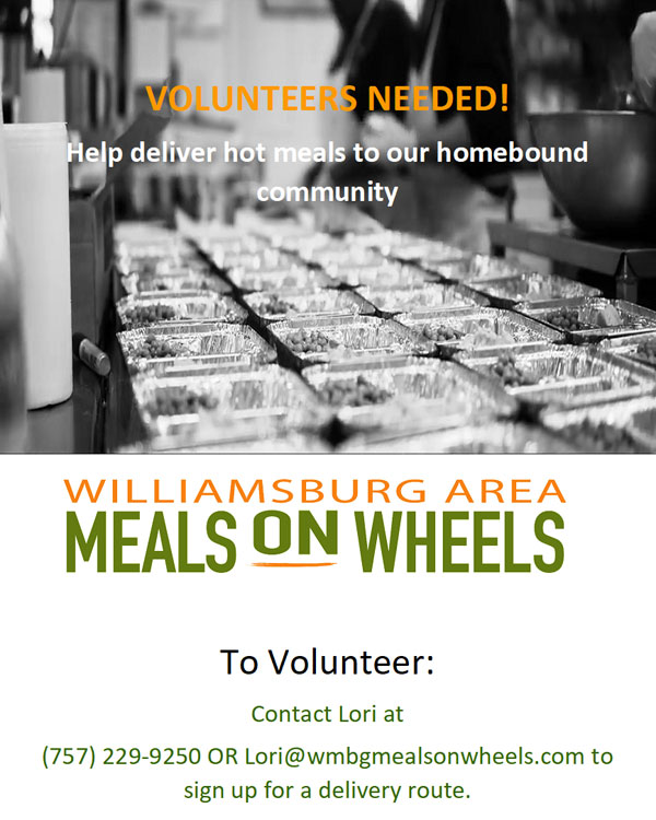 Williamsburg Meals on Wheels