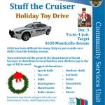 Stuff the Cruiser Holiday Toy Drive