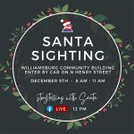 Santa Sighting Drive-By Event - Dec. 5