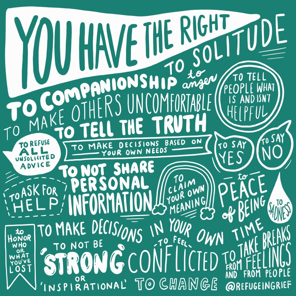 bill of rights of grief