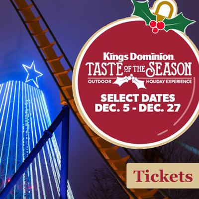 kings dominion christmas 2020