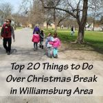Top 20 Things to Do in Williamsburg over Christmas Break 2020