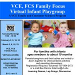 NEW Virtual Infant Playgroup for Families with Newborn to 10 months