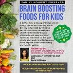 Brain Boosting Foods for Kids