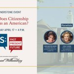 US: Past, Present, Future - new national conversation event~ April topic: