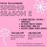 Focus Field Hockey Spring Season - Registration Open