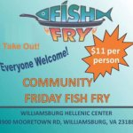 Fish Fry Fridays at St. Demetrios Greek Orthodox Church this Friday! Learn more