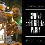 Spring Beer Release Party at Chownings featuring Billsburg!