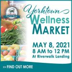 Yorktown Wellness Market is May 8 - fitness, cooking demos and family fun!