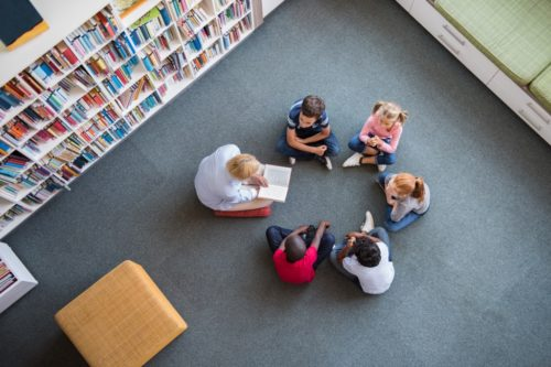 story time at the williamsburg library