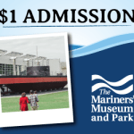 Mariners' Museum Reopens May 28 and Admission is only $1 per person!   Great Museum, Great Family Time - $1 Per Person! Learn more: