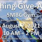 Come to the return of the SMBC Clothing Giveaway! Sat. Aug 7th