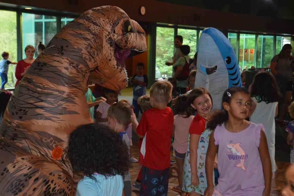 Dino Pajama Party at Virginia Living Museum