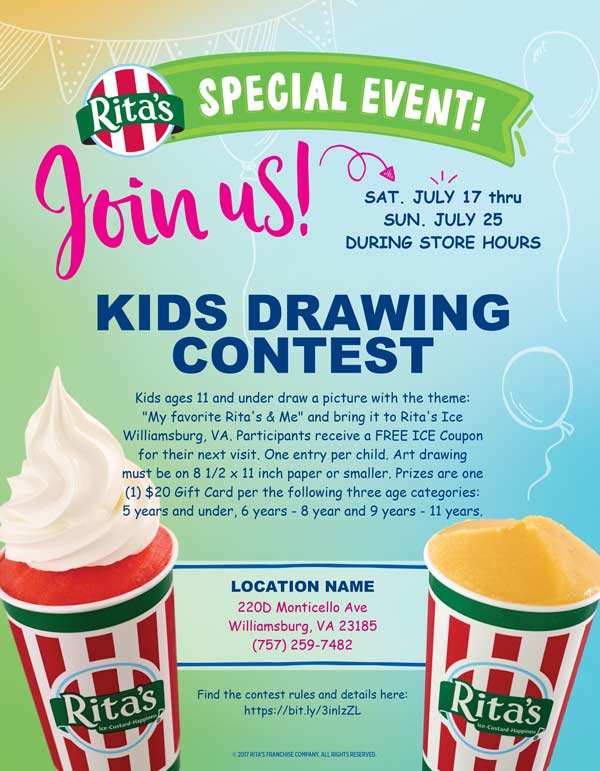 Rita's-Kids-Drawing-Contest
