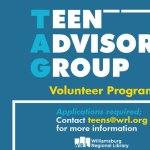 Teen Volunteer Opportunities at Williamsburg Regional Library for 2021