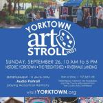 Yorktown Art Stroll – September 26, 2021 – FREE Event!
