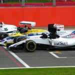 Williams Celebrates 40 Years with Silverstone Display