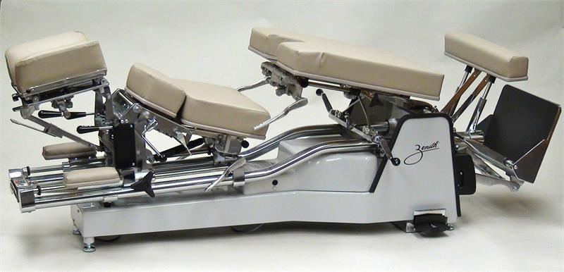 Parts Diagram Table 225 Zenith Hylo Chiropractic Adjusting Table
