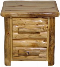 Williams Log Cabin Furniture - Nightstands
