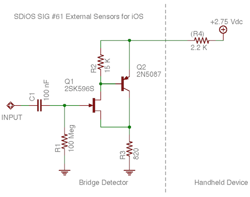 Handheld AC Impedance Bridge